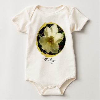 White Tulip Baby Bodysuit
