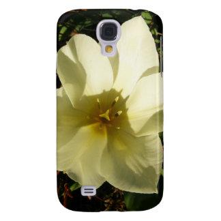 White Tulip Bride Samsung Galaxy S4 Case