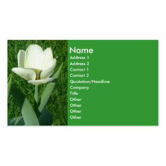 White Tulip Business Card