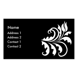 white tulip business cards
