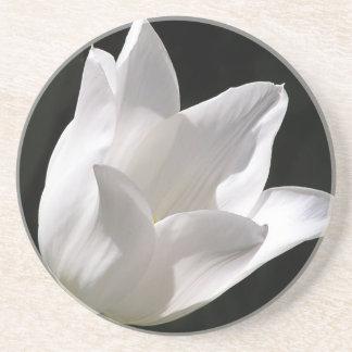 White Tulip Coaster