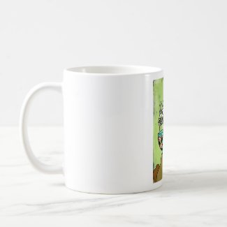 White Tulip Empress mug