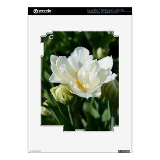 White Tulip Skins For iPad 3