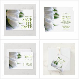 White Tulip Wedding Collection
