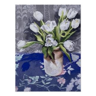 White Tulips 1994 Poster