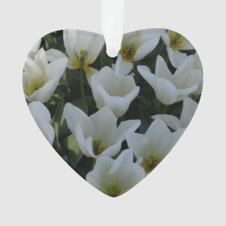 White Tulips Ornament