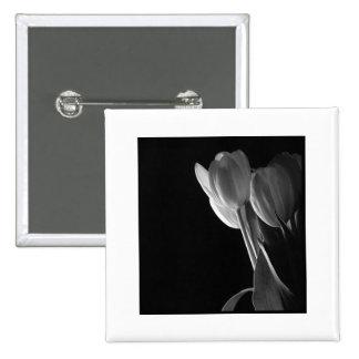 White Tulips Photo On Black Background Pins