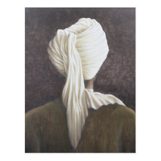 White turban 2005 postcard