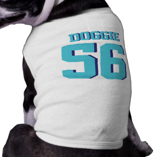White & Turquoise Pets | Sports Jersey Design Shirt
