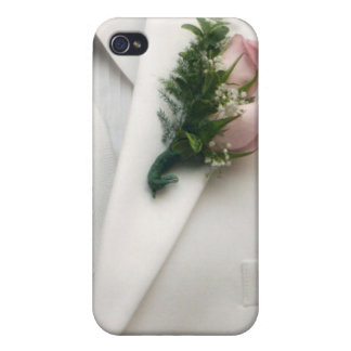 White tuxedo - here comes the groom iPhone 4/4S cover