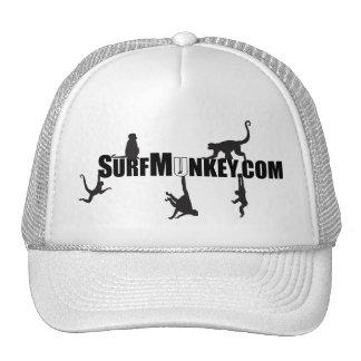 "White ""U"" in Hanging Munkeys design Trucker Hat"