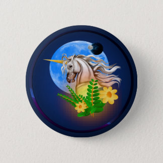 White Unicorn, Alien World Button