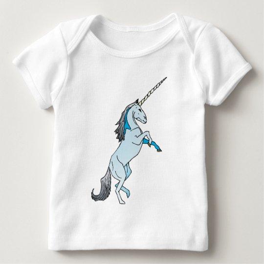 White Unicorn Baby T-Shirt