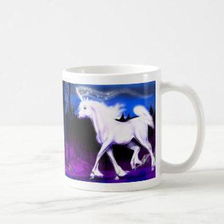 White Unicorn Basic White Mug