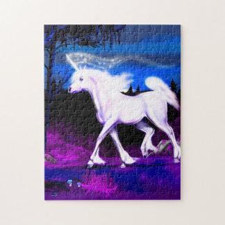 White Unicorn Puzzle