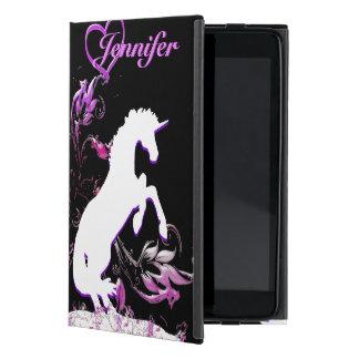 White Unicorn V (Coloful Splash) iPad Mini Cover
