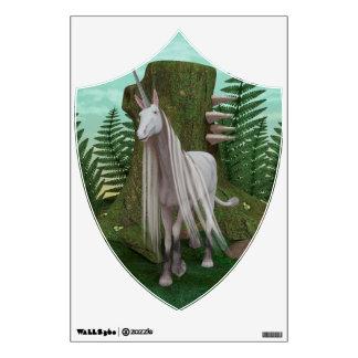 White Unicorn Wall Sticker