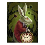 White Vampire Rabbit Postcards