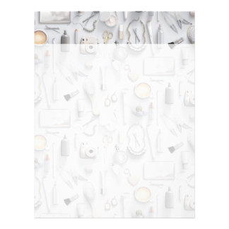 White Vanity Table Letterhead