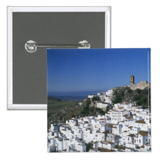 White Village of Casares, Andalusia, Spain 2 Button