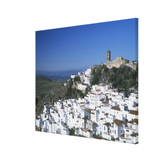 White Village of Casares, Andalusia, Spain 2 Canvas Print