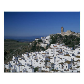 White Village of Casares, Andalusia, Spain 2 Poster