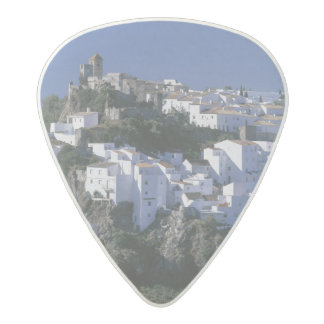 White Village of Casares, Andalusia, Spain Acetal Guitar Pick