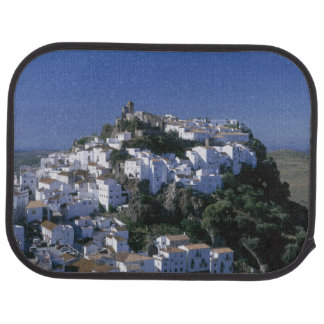 White Village of Casares, Andalusia, Spain Car Mat