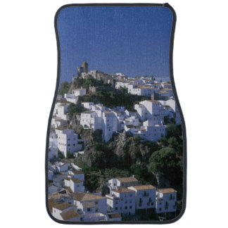 White Village of Casares, Andalusia, Spain Floor Mat
