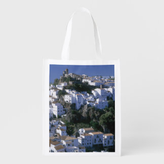 White Village of Casares, Andalusia, Spain Reusable Grocery Bag