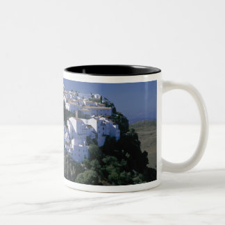 White Village of Casares, Andalusia, Spain Two-Tone Coffee Mug