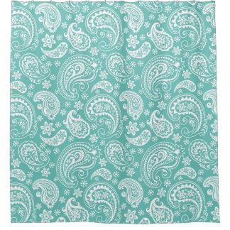 Floral Paisley Shower Curtains | Zazzle