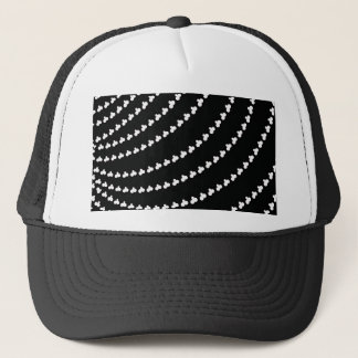 White Vortex Trucker Hat