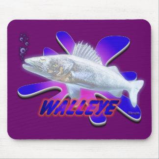 White Walleye Mouse Pad