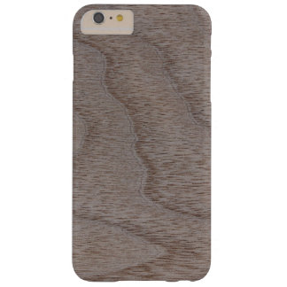 White Walnut Wood Grain Look Barely There iPhone 6 Plus Case