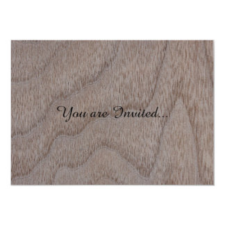 White Walnut Wood Grain Look Card