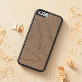 White Walnut Wood Grain Look Carved® Maple iPhone 6 Bumper Case