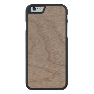 White Walnut Wood Grain Look Carved® Maple iPhone 6 Case