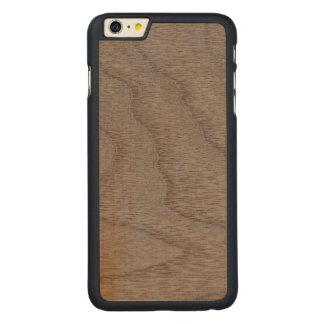 White Walnut Wood Grain Look Carved® Maple iPhone 6 Plus Slim Case