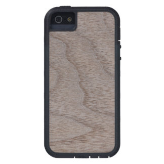 White Walnut Wood Grain Look Case For iPhone SE/5/5s