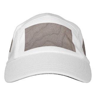 White Walnut Wood Grain Look Headsweats Hat