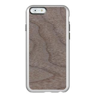White Walnut Wood Grain Look Incipio Feather® Shine iPhone 6 Case
