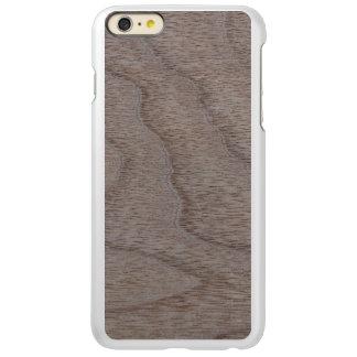 White Walnut Wood Grain Look Incipio Feather® Shine iPhone 6 Plus Case