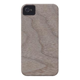 White Walnut Wood Grain Look iPhone 4 Case-Mate Case
