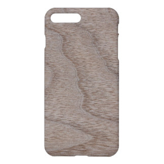 White Walnut Wood Grain Look iPhone 7 Plus Case