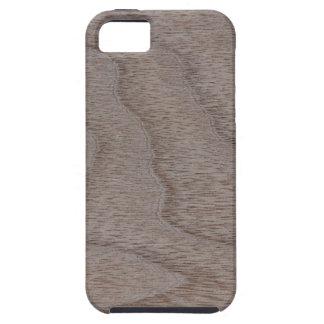 White Walnut Wood Grain Look iPhone SE/5/5s Case