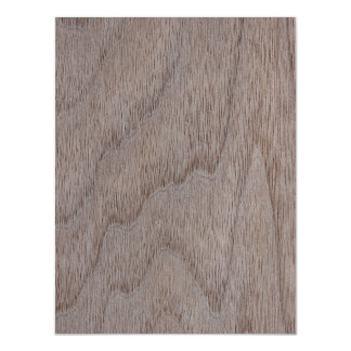 White Walnut Wood Grain Look Magnetic Card