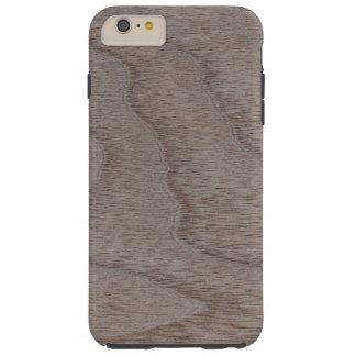 White Walnut Wood Grain Look Tough iPhone 6 Plus Case