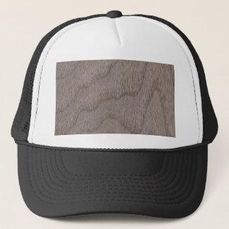 White Walnut Wood Grain Look Trucker Hat