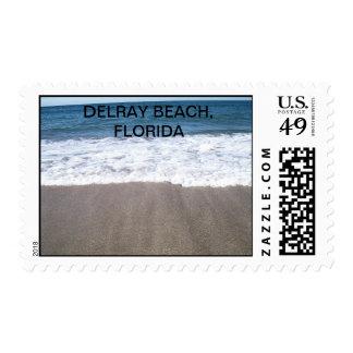 White Wash of Delray Beach Postage